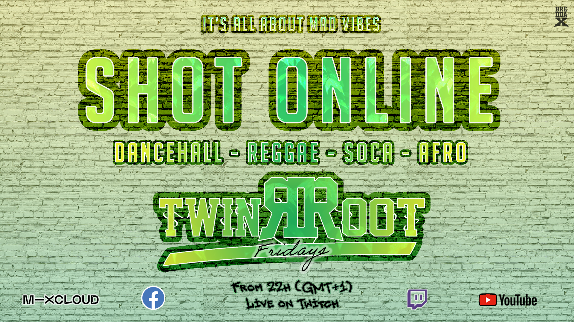 Shot Online-TwinRoot Fridays